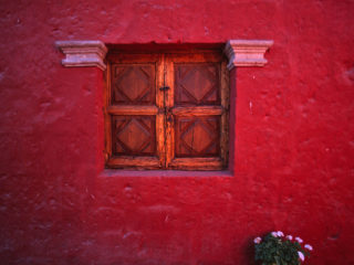 Window – Arequipa, Peru