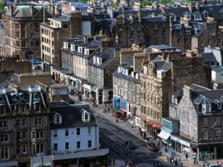 From the Castle – Edinburgh, Scotland