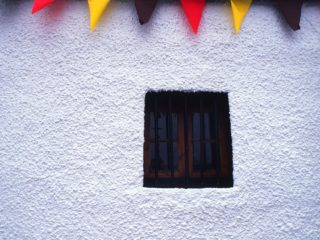 Window Flags -Jura, Scotland