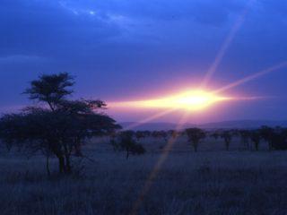 Sunset – Serengeti, Tanzania