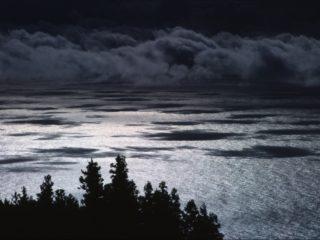 Underexposed Fake Sunset View